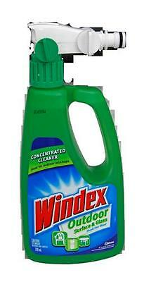 Windex 750ml Outdoor Click on Surface Glass and Window Cleaner Best Streak
