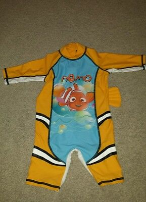 finding nemo baby boy swimsuit size 9-12 months