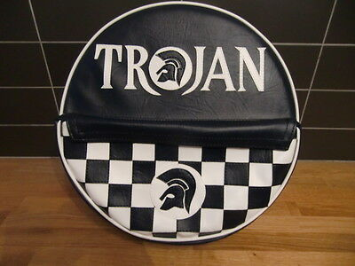 Trojan Check Pocket Scooter Wheel Cover