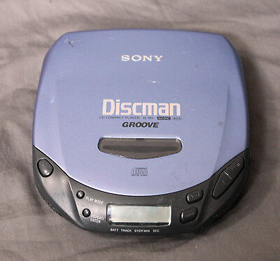 Sony D-181 Walkman Discman Groove Portable CD Player