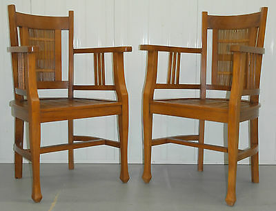 Pair Of Teak And Bamboo Carver Armchairs, Matching Plantation Armchair Available
