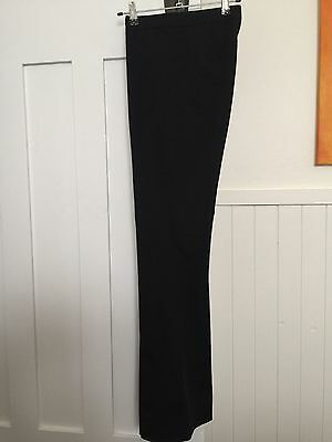 Bang Ladies Black High Waisted Pants Trousers - Size 8