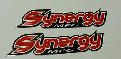 SYNERGY racing decals stickers offroad mint diesel nhrda crawl truck