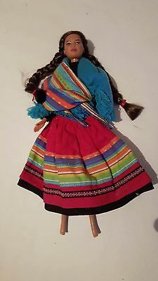 Barbie Doll World Collector Edition Peruvian Peru 1996 Great Shape!