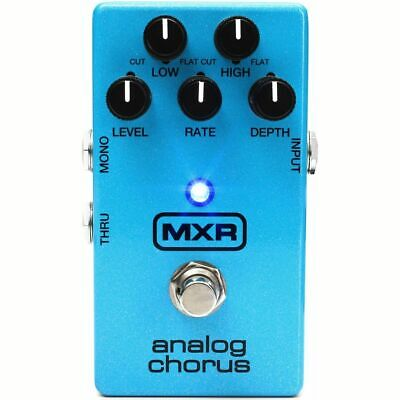 New Dunlop MXR M234 Analog Chorus Guitar Effects Pedal, Blue - w/ Free Shipping