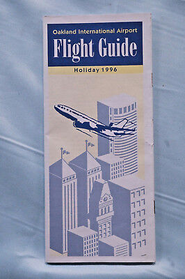 Oakland International Airport Fight Guide - Holiday 1996