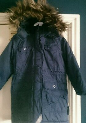 Girls winter parka jacket by Name it size 5-6 years BNWT