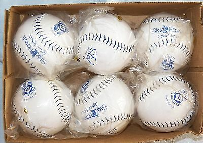 Sky Hawk Official Softball B-100 COR-50 Licensed by USSSA Lot of 6 NEW! Lot 4