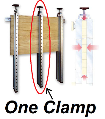Panel Max Glue Press Single Clamp – Wood Panels