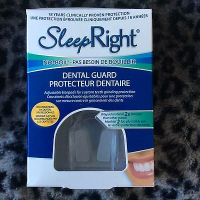 New In Box! SLEEP RIGHT Dental Guard Free Shipping Canada Seller l@@k