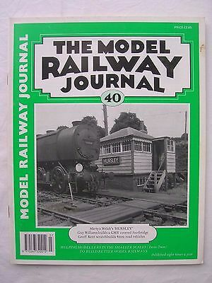 Model Railway Journal No.40