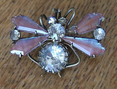 Lovely Rare Vintage Saphiret Butterfly Brooch