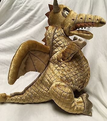 Wicked the Musical Plush Dragon Hand Puppet Clock Of The Time Broadway