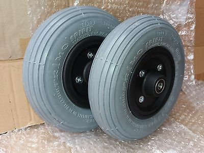 Pair Primo Tires 200x50 caster wheel, Foam Filled 8x2¨