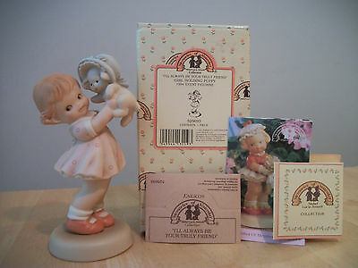 """Enesco Memories of Yesterday """"I'll Always Be Your Truly Friend"""" 525693"""