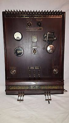 Rare Vintage Antique Electrical 1910's American Safe Bank Fire Alarm Steampunk