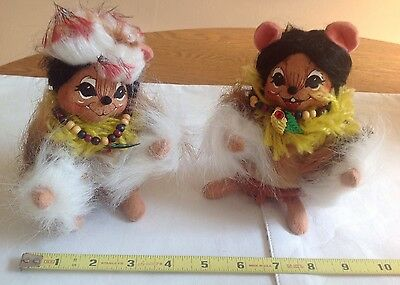 """Anna Lee Thanksgiving """"Indian Mice"""""""