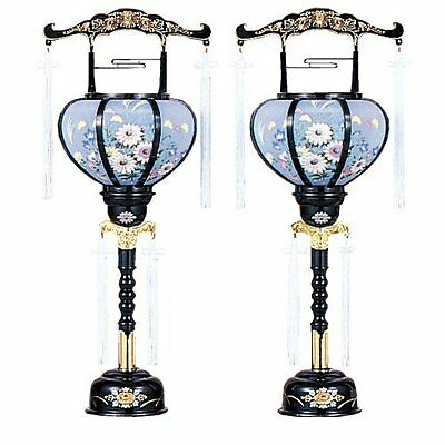 Takita Bon paper lantern Obon Reizen lamp No. 1 Japan new 2 pcs set F/S