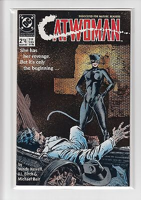 Catwoman #2 of 4 (1989) DC Comics