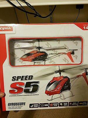 Syma S5 3-Channel Remote Control Helicopter