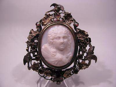 Antique Museum Quality Hardstone Cameo of Psyche