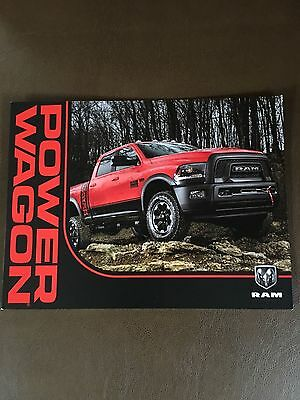 2017 Dodge Ram Power Wagon 6-page Small Original Sales Brochure