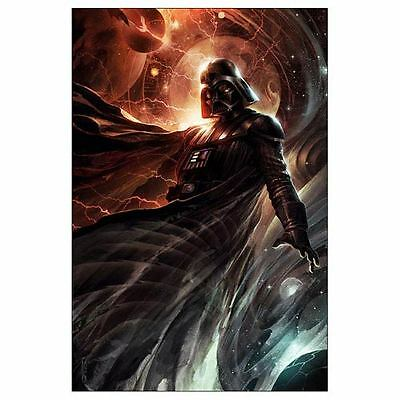 STAR WARS THE FORCE AWAKENS DARTH VADER Limited Edition GICLEE Art Print 22x17