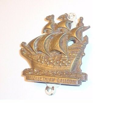 Brass Door Knocker - Clipper Ship - Elizabethian Galleon -  Lake Cottage Decor