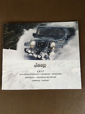 2017 Jeep FULL LINE 20-page Original Sales Brochure