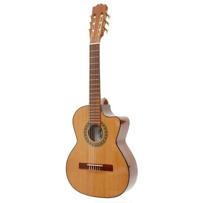 New Paracho Elite GONZALES Classical Requinto Acoustic Guitar w/ Solid Cedar Top