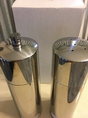 STAINLESS STEEL  SALT AND PEPPER MILL GRINDER & Shaker KITCHEN TOOL