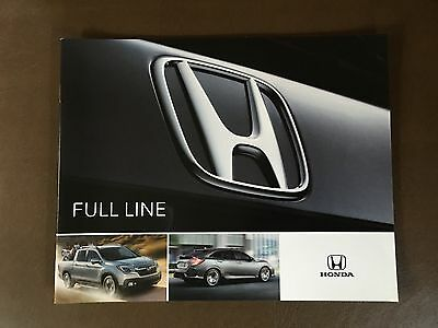 2017 Honda Full-Line 20-page Original Sales Brochure