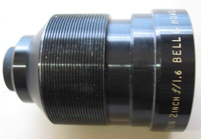 BELL & HOWELL 16mm projection lens 2 Inch F1.6  -- Good