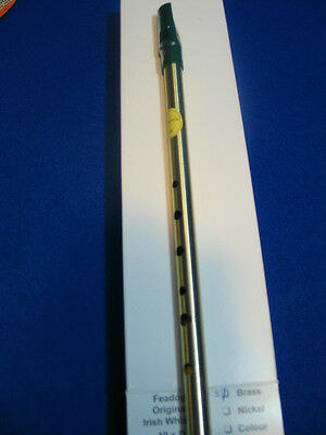 Tin Whistle, Brass - Key of D