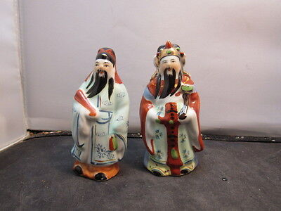 Chinese Porcelain Famille Rose  Statue Figures Figurines