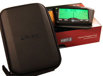 Blair HBT3 Bagpipe Tuner and Case