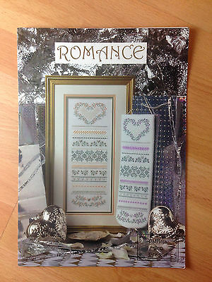 Patricia Ann Designs Romance Cross Stitch Sewing Book