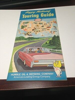 Happy Motoring Touring Guide By Humble Oil & Refining Company