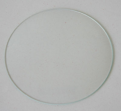 "4 12/16"" 110mm New Round Convex Clock Glass Clock Parts Repair Convex Glass"