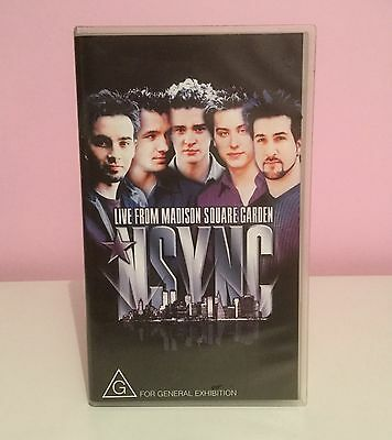 Nsync Live at Madison Square Garden VHS