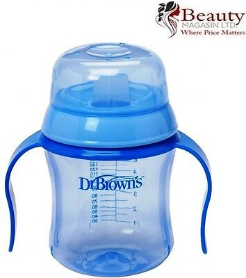 Dr Brown's Blue Trainer Cup Soft Spout Training Cup