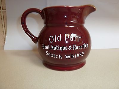 Old Parr  Whiskey  Water  Jug   13 Cm Tall