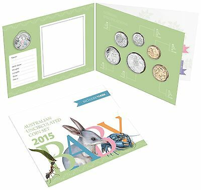 2015 Baby Royal Australian Mint Coin Set With ABC Token