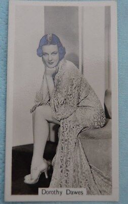 Beauties of Today Cigarette Card by G Phillips- No 12 Dorothy Dawes