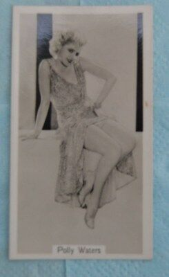 Beauties of Today Cigarette Card by G Phillips- No 5 Polly Waters