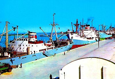 Cyprus Famagusta Port Postcard as picture * Combined Shipping available * CFDS5