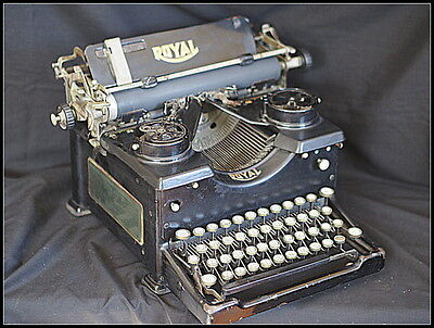 1930s (?) Royal Typewriter with Glass Sides.