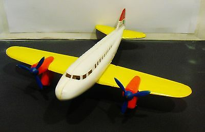 Vintage Dacota Dc3 Airplane Made In Portugal In The1970's - 2