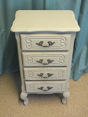 Miniature vintage French chest of drawers