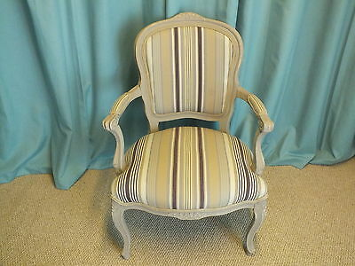 Stunning French upholstered chair